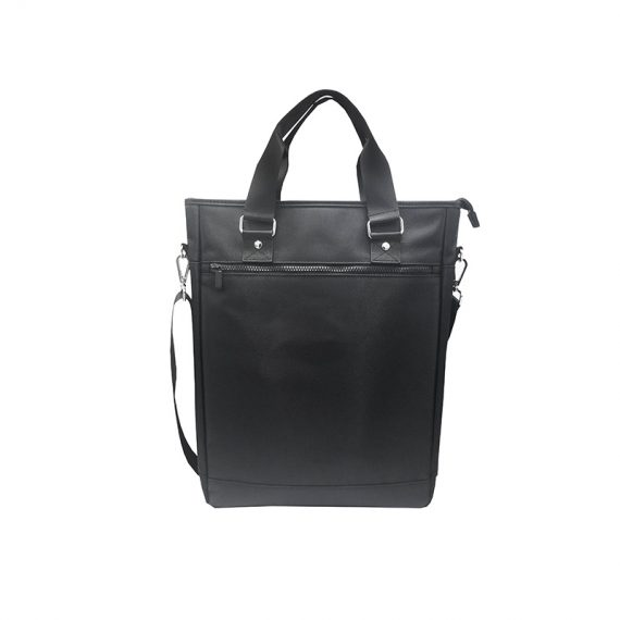 Tote bag for men with laptop compartment front