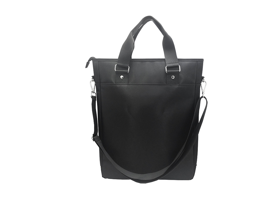 Tote bag for men with laptop compartment Back