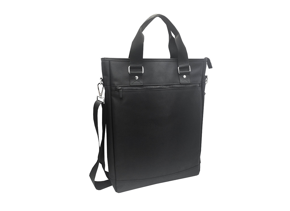 Tote bag for men with laptop compartment L Side