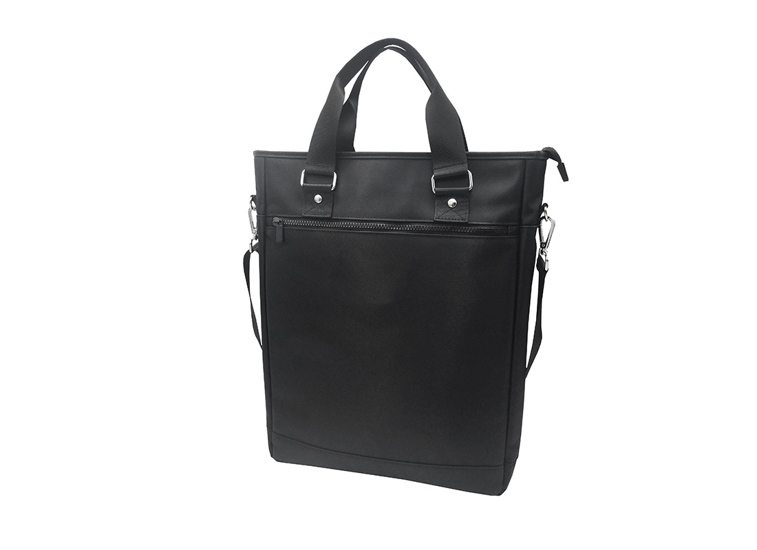 Tote bag for men with laptop compartment R Side