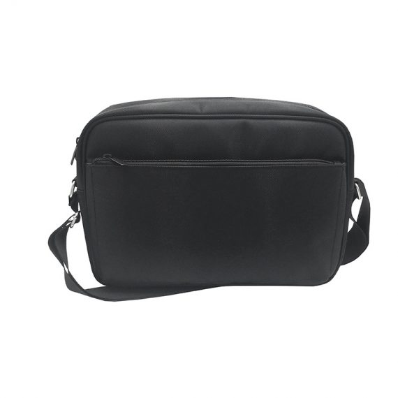 Men Messenger bag in black front