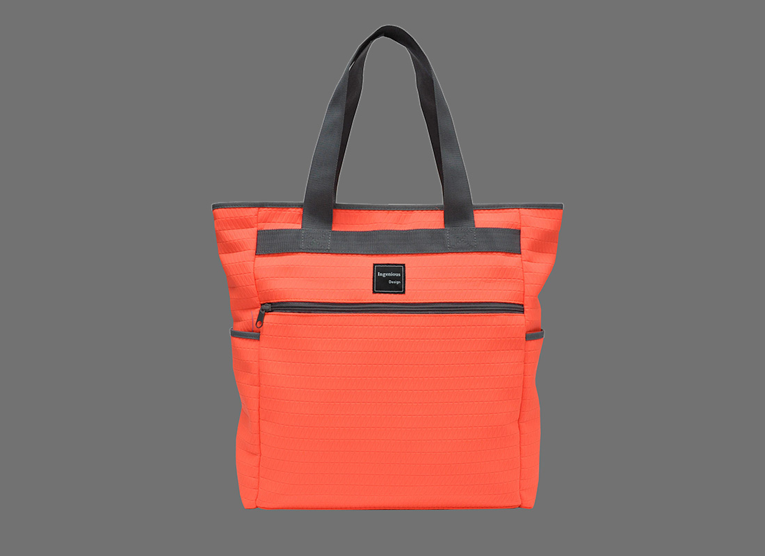 Neon Tote Bags in Neon Orange