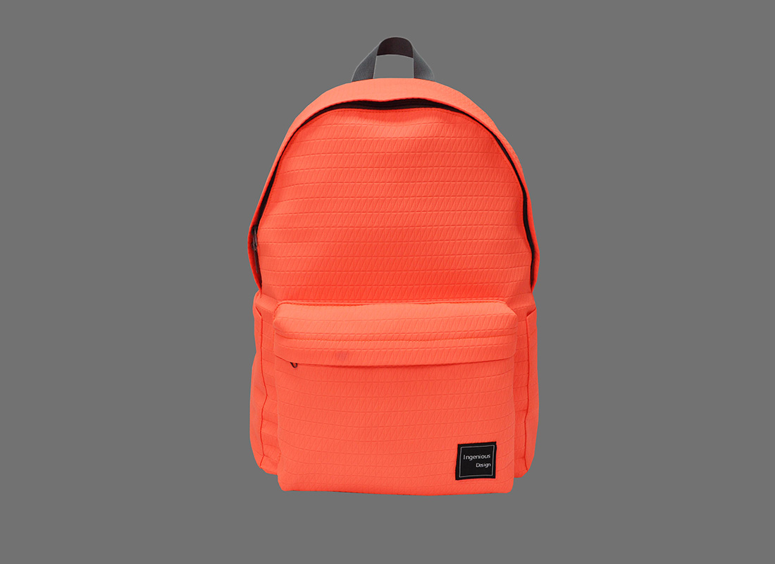 Neon Backpack in Neon Orange