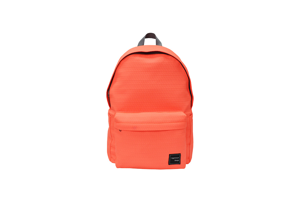 Neon Backpack in Neon Orange Front