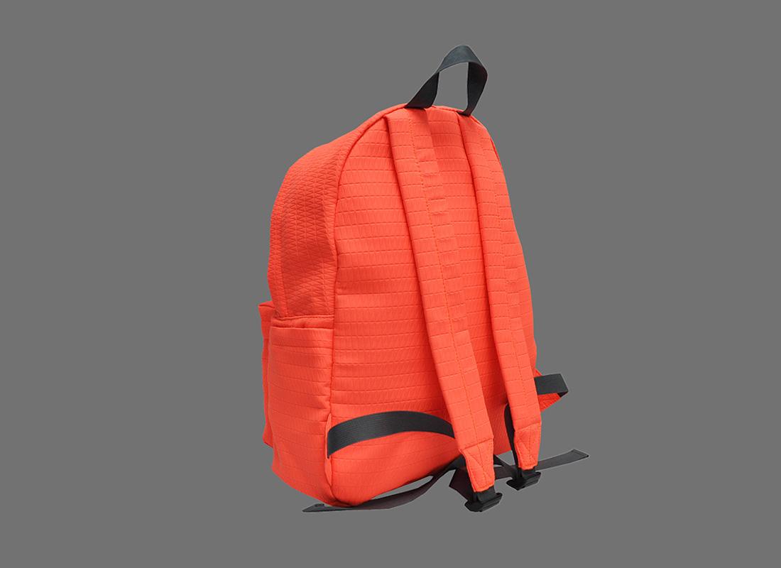 Neon Backpack in Neon Orange back side