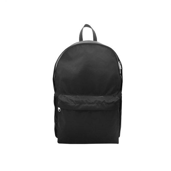 Folded Backpack in Black