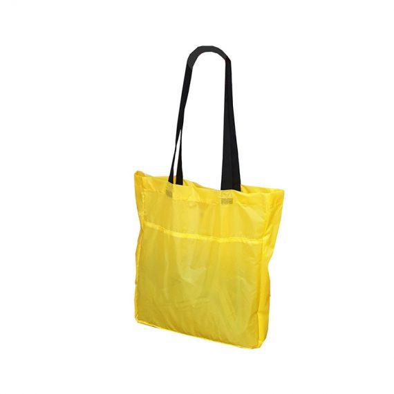 Foldable Shopping bag 21009 yellow r side