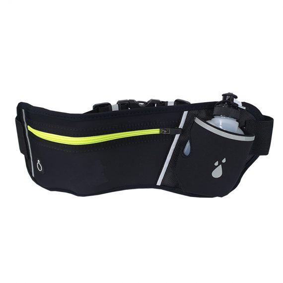 running waist bag - 21023 - black front