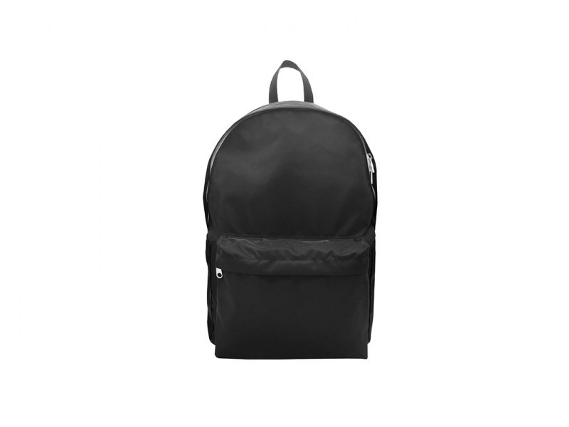 Folded Backpack in Black