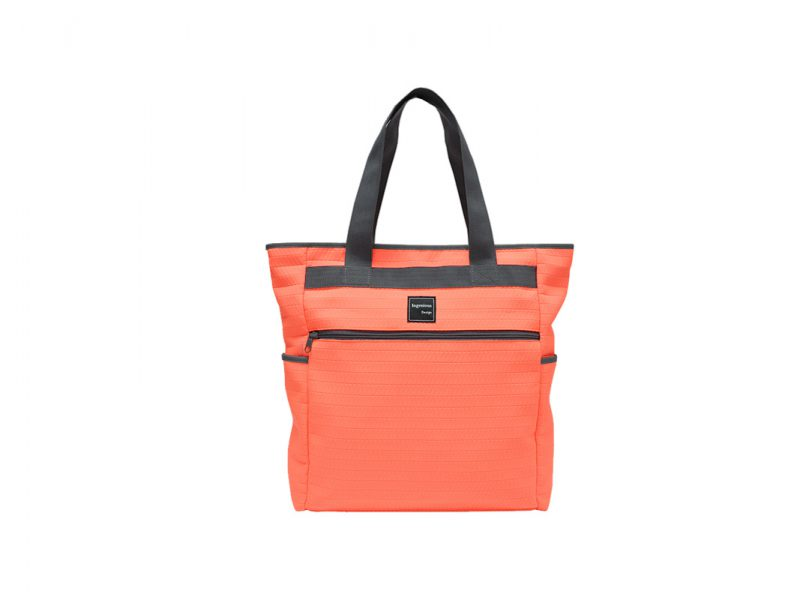 Neon Tote Bag in Neon Orange Front