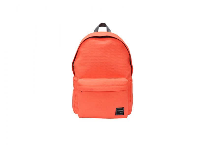 Neon Backpack in Neon Orange Front