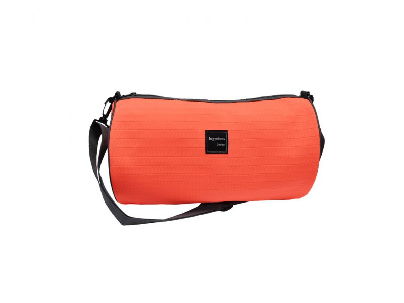 Neon duffle bag in Neon Orange front