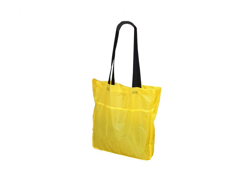 Foldable Shopping bag 21009 yellow r side