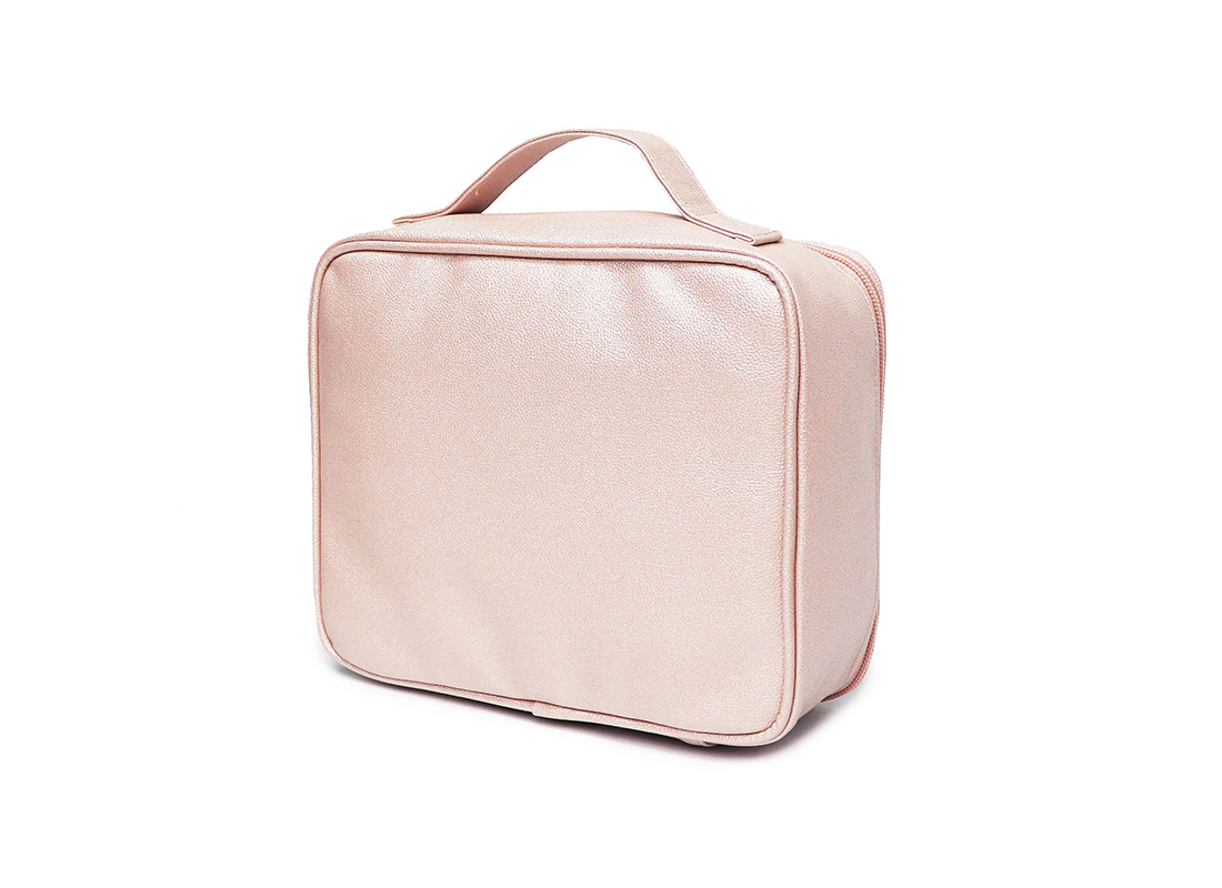 sparkly cosmetic bag - 20012 - pink r back