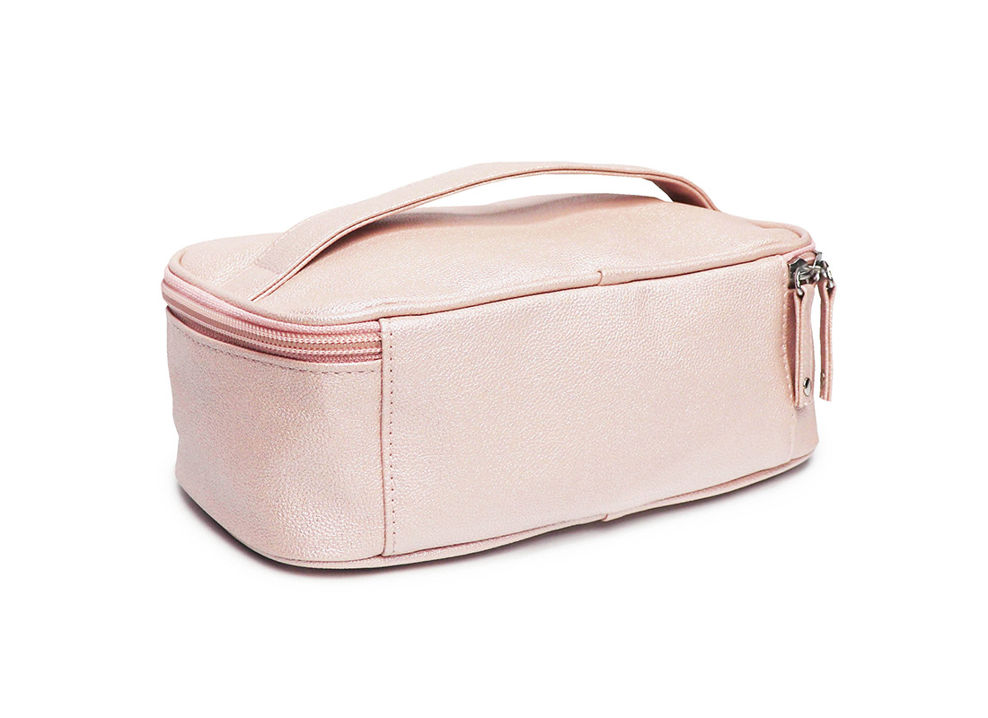 sparkly cosmetic bag - 20009 - pink L back