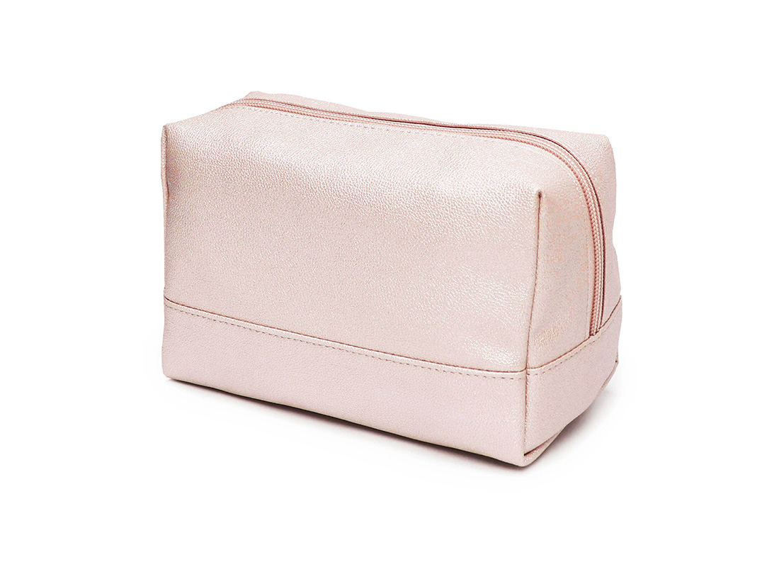 sparkly cosmetic bag - 20010 - pink r back