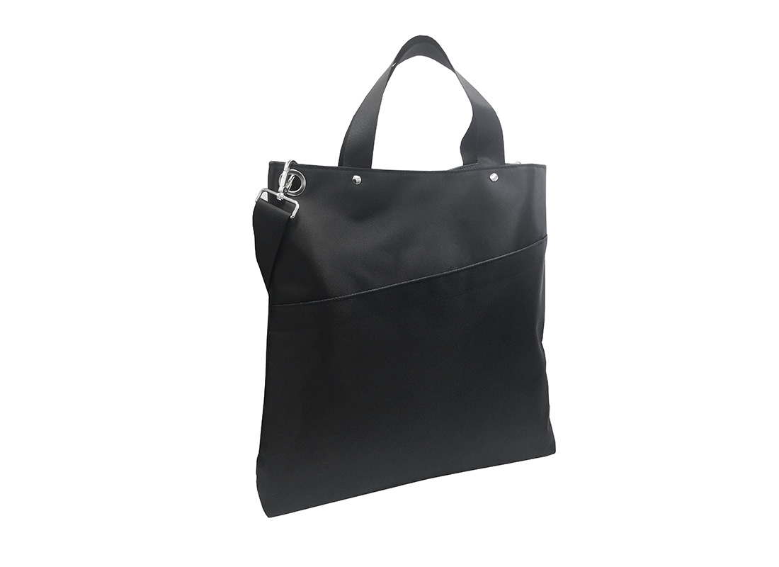 Black Tote Bag for Men R side