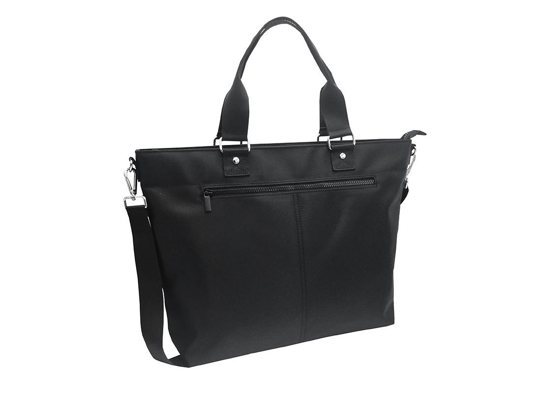 Luxury Tote Bag for Men in Black R Side