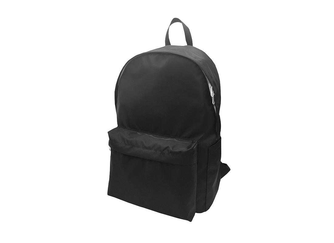 Folded Backpack in Black R side