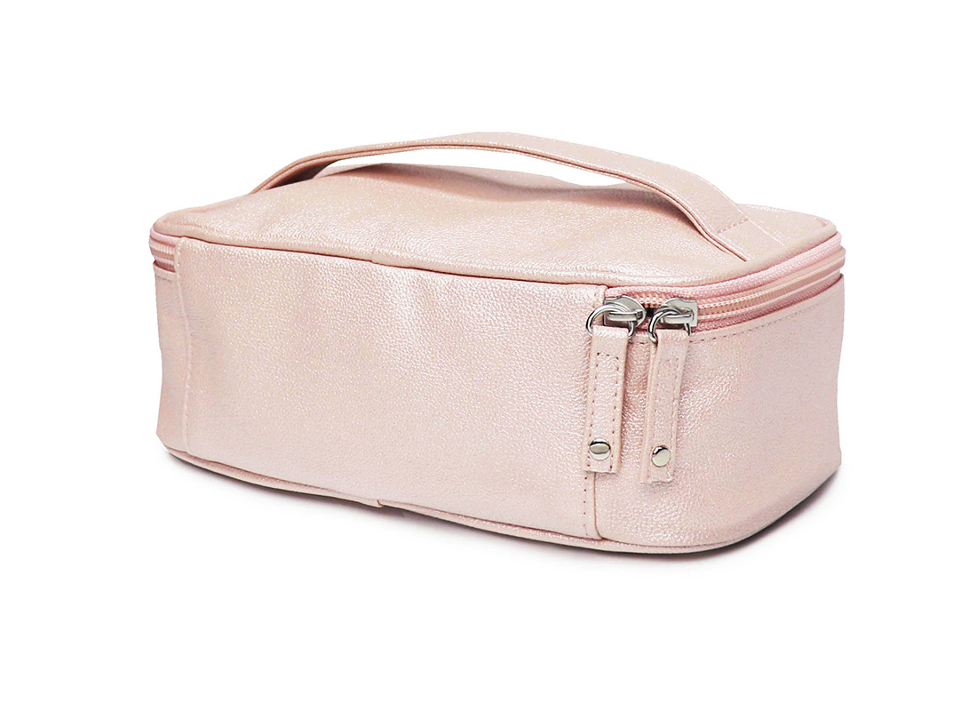 sparkly cosmetic bag - 20009 - pink r back