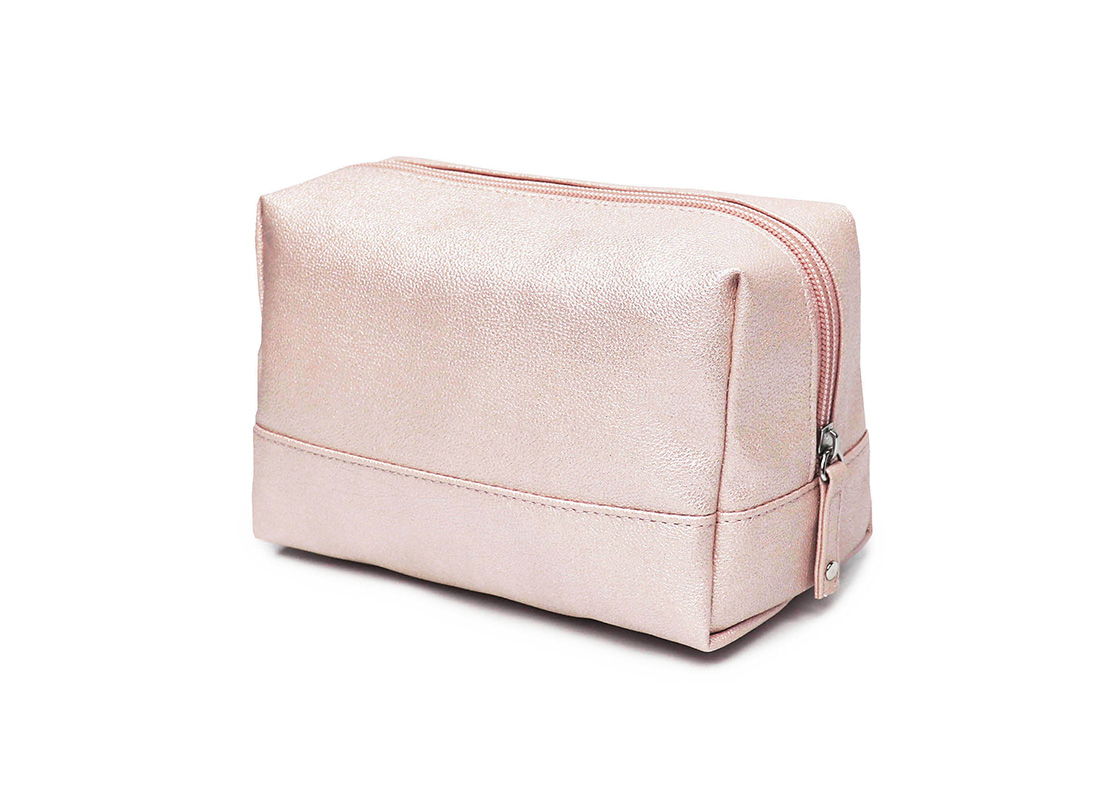 sparkly cosmetic bag - 20010 - pink R side
