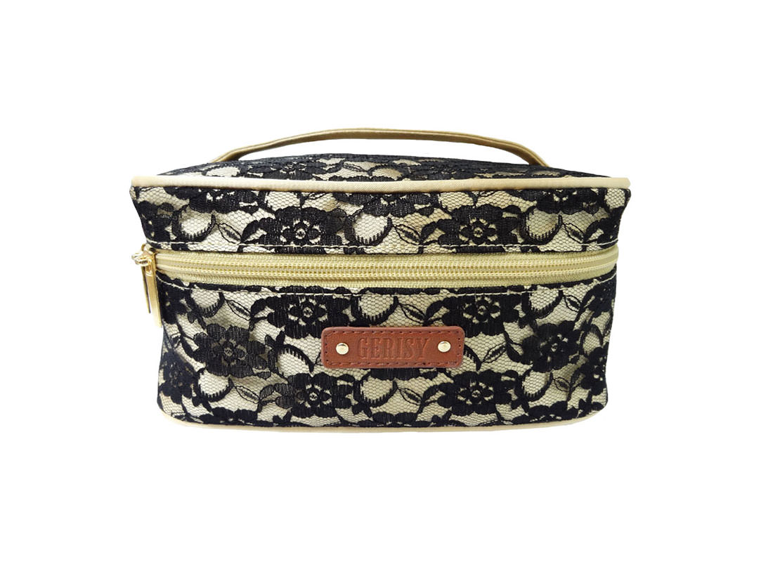 Black Lace Bag Cosmetic bag