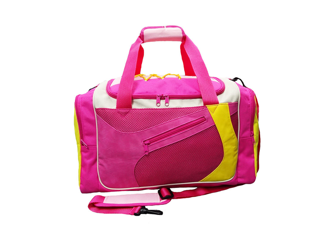Pink Sport Bag with Shoe Pocket