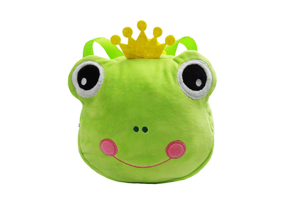 Prince Frog Backpack for Children
