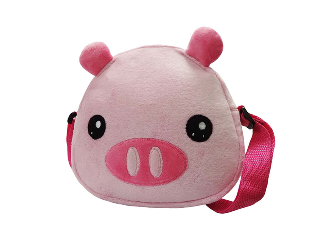 Pinky Piggy Shoulder Bag for Children