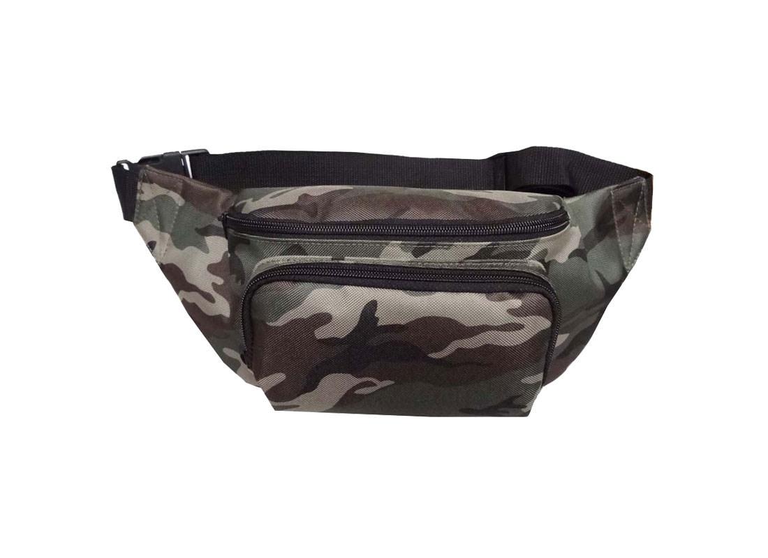 camouflage waist bag