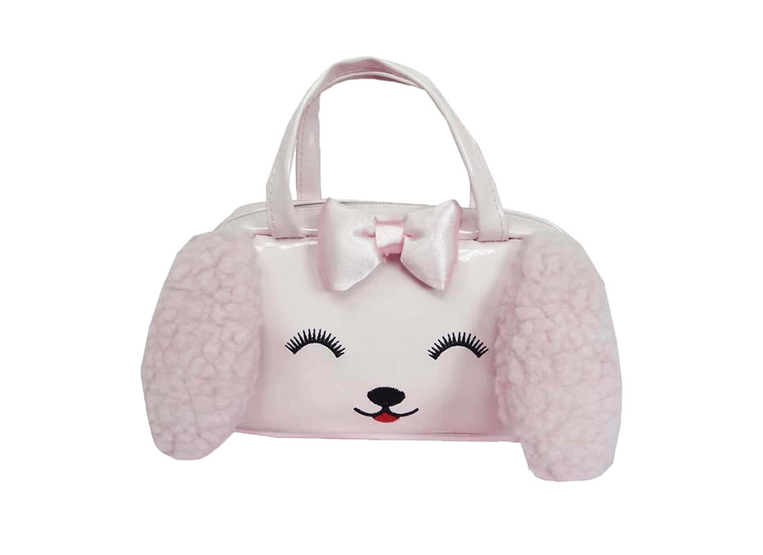Dog Shaped Children Handbag in Pink