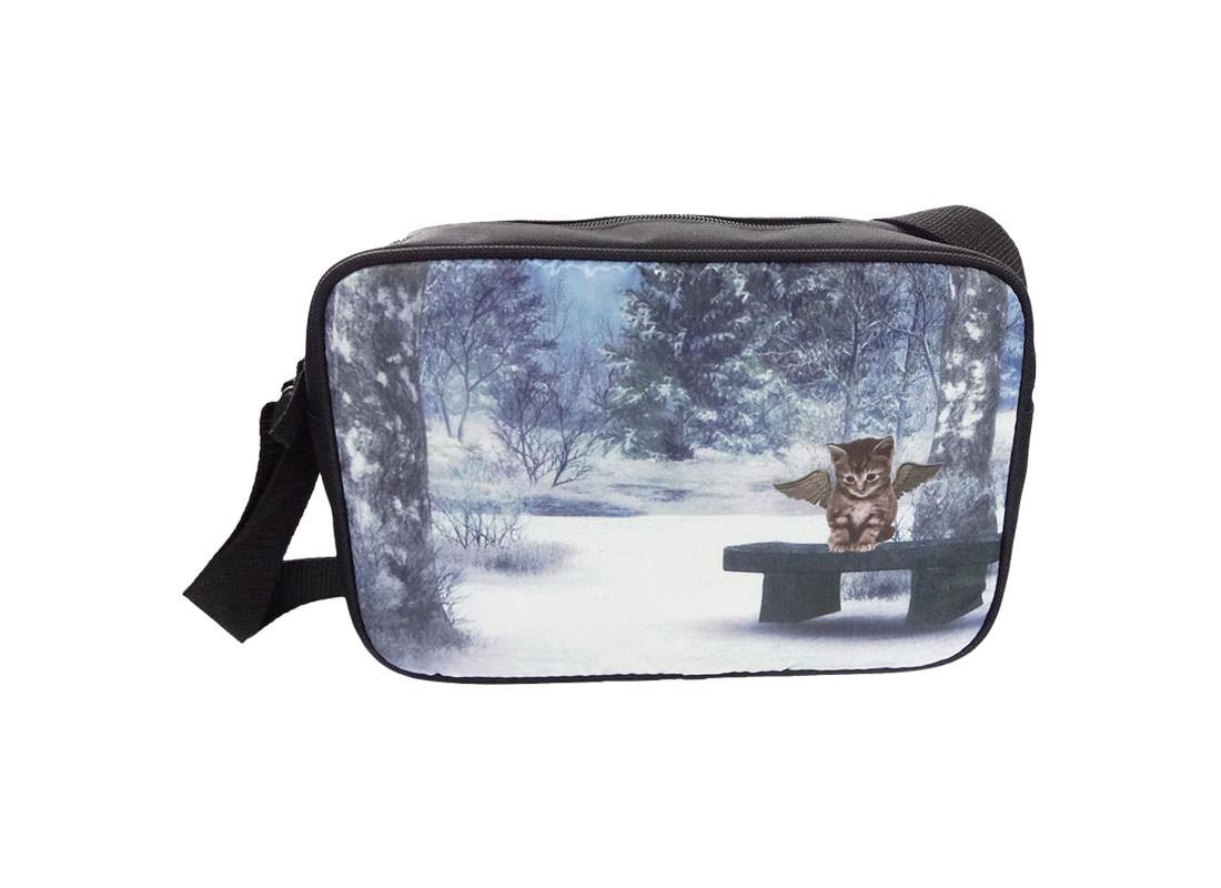 Sublimation Shoulder Bag with Cat printing