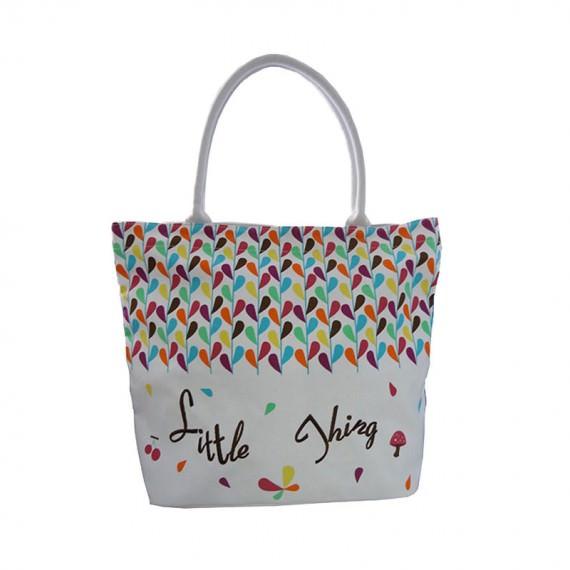 Color Printing Canvas Tote Bag