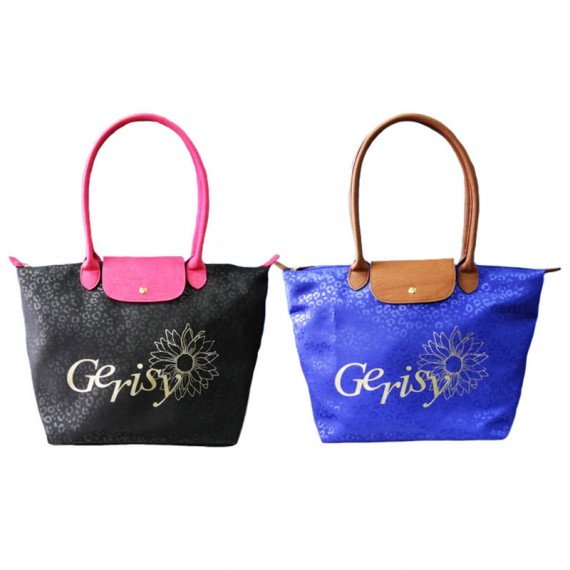Fashion Tote Bag with Leopard Pattern