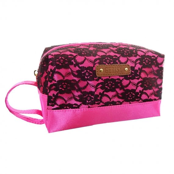 Lace Cosmetic Bag