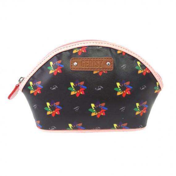Kaleidoscopic pattern cosmetic Bag