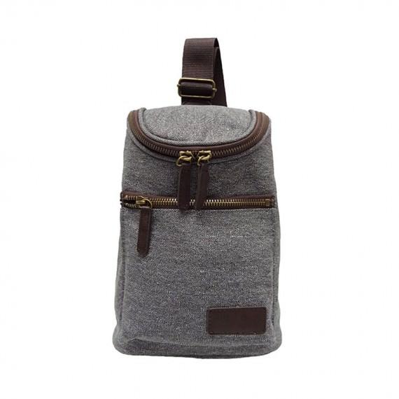 canvas sling bag for men