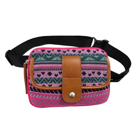 Cotton Waist Bag for Women