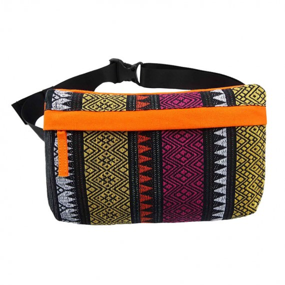 Folk Style Pattern Waist Bag for Women