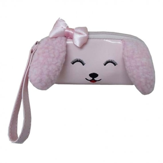 Dog Shaped Purse in Pink