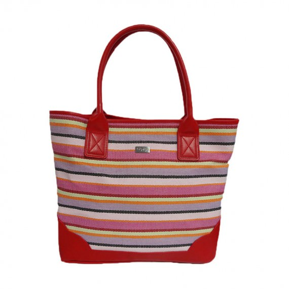 Fashion Knitted Paper Tote Bag