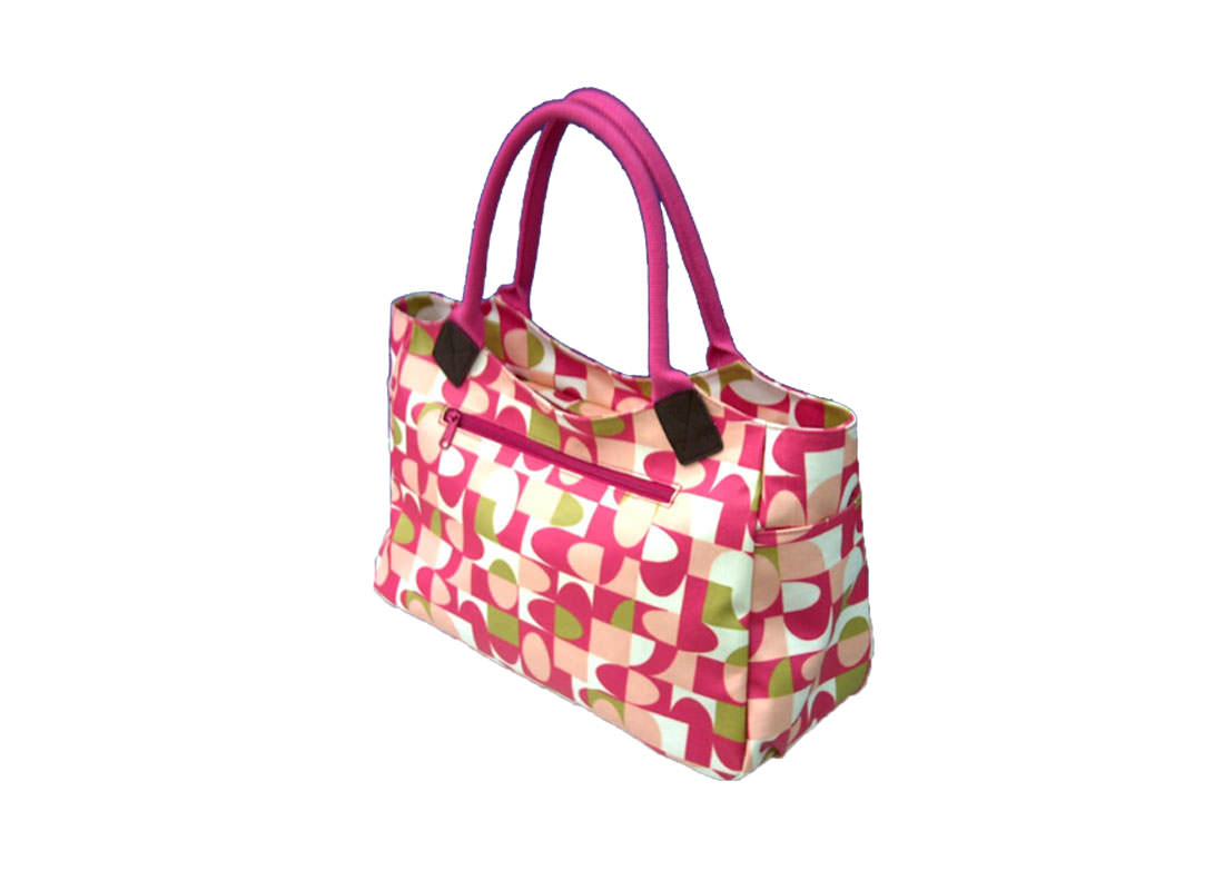 Canvas with Coating Mommy Bag Side