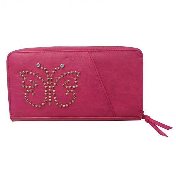 Cherry Pink Long Wallet