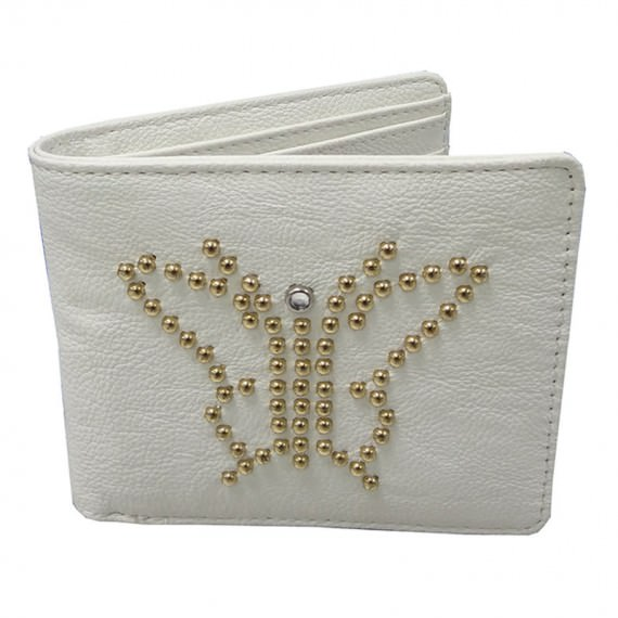 Short Wallet in White