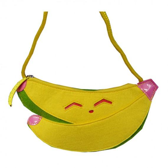Banana Shaped Shoulder Bag for Children