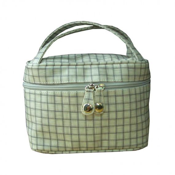 Check Cosmetic Bag