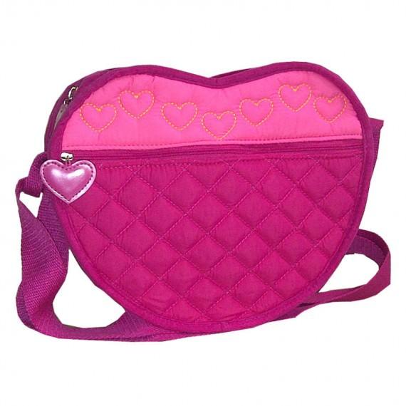 Heart Shaped Shoulder bag for children
