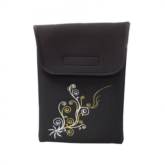 10 inch Tablet Sleeve with Embroidery