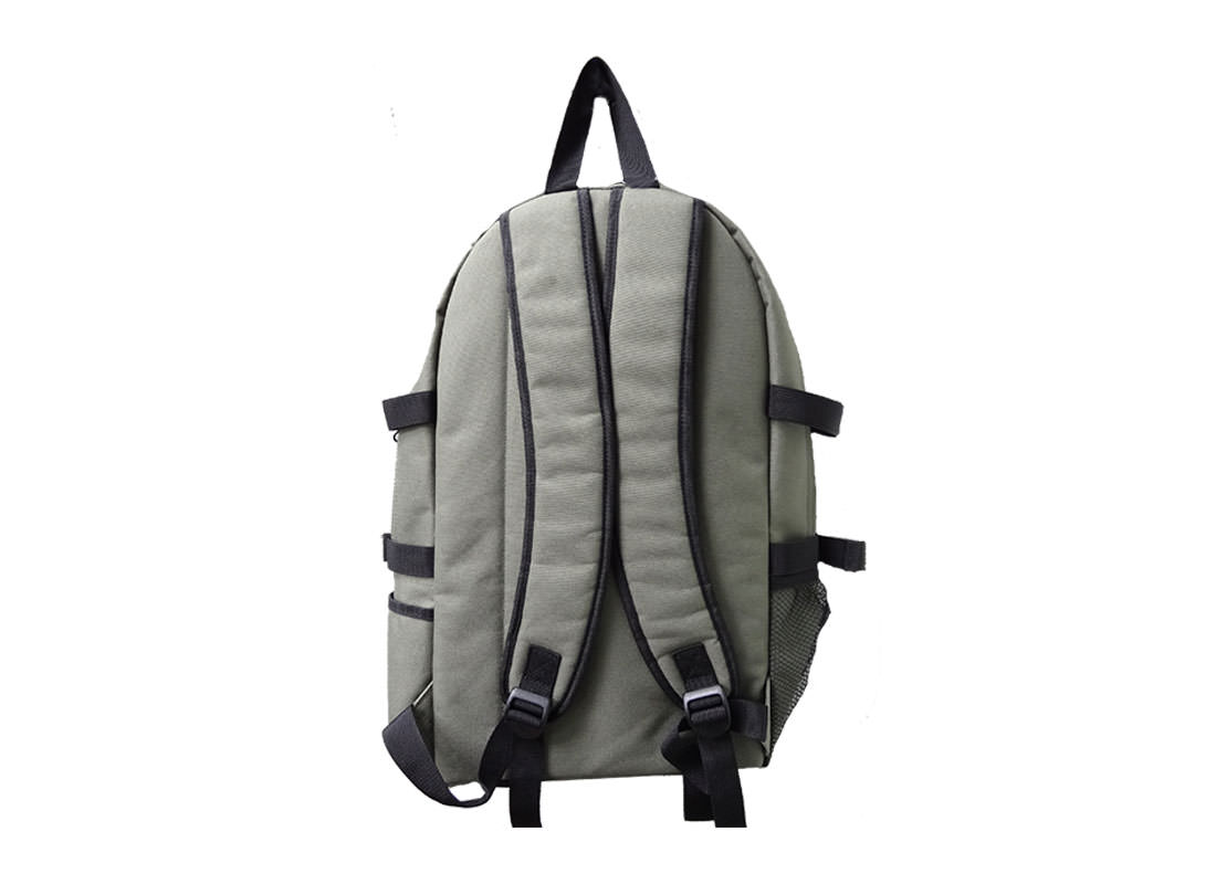Military Green Backpack for Mens casual use back