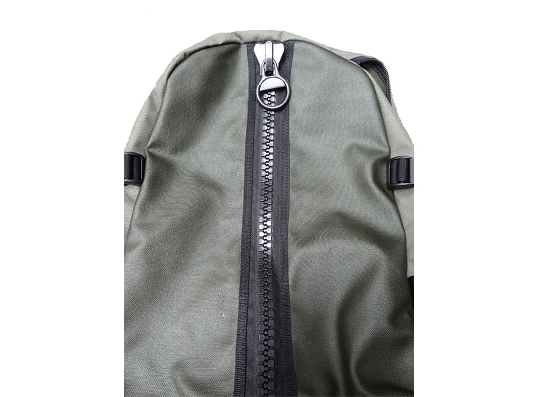Military Green Backpack for Mens casual use Front